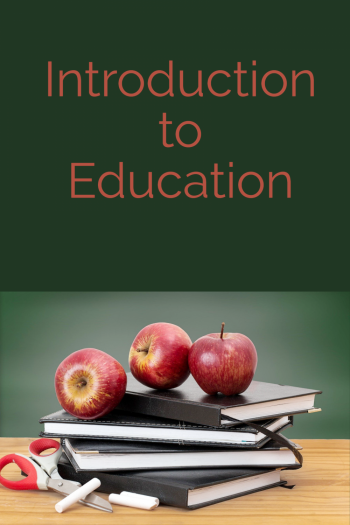 Cover image for Introduction to Education (BETA)