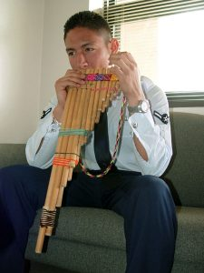 Andean panpipes